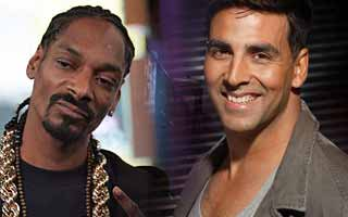 American rapper Snoop Dog and Akshay kumar