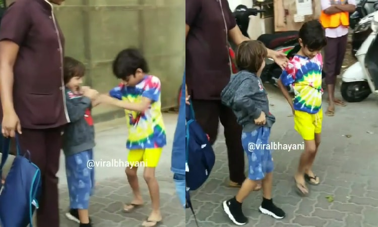 adorable video of abram and yohan