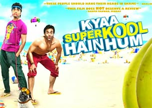 movie review of kyaa super kool hain hum