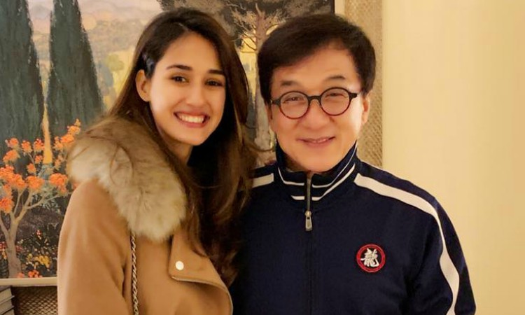 dishas special message to jackie chan