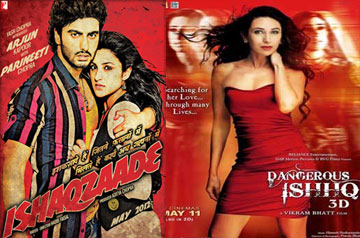 dangerous ishq and ishaqzaade move