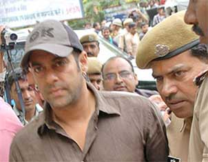 salman khan in Jodhpur arms case