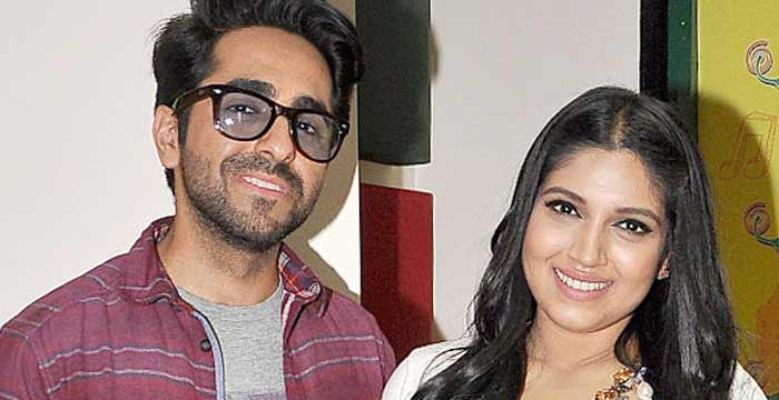Ayushmann and Bhumi