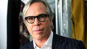 International designer Tommy Hilfiger