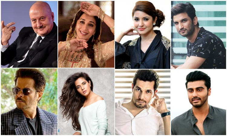 celebrities post heart felt messages on army day