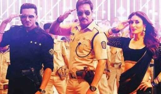 Aata majhi satakli song in singham returns