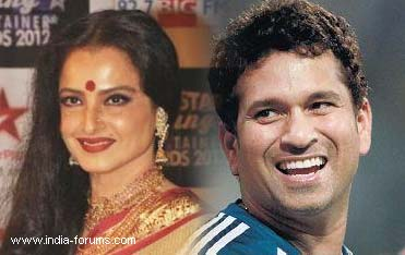 rekha and sachin