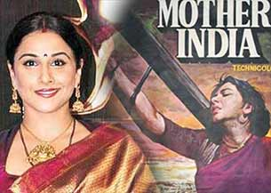 vidya balan in mother India remake