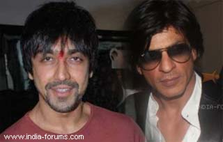 ashish chowdehuri and shah rukh khan