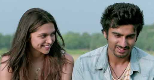 Arjun and Deepika in finding fanny
