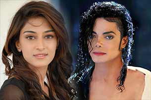 actress Erica Fernandez and michael jackson