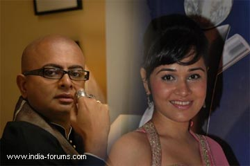 nisha kothari and bengali movie director Rituparno Ghosh