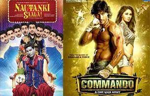 commando and Nautanki Saala