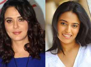 preity zinta and swara bhaskar