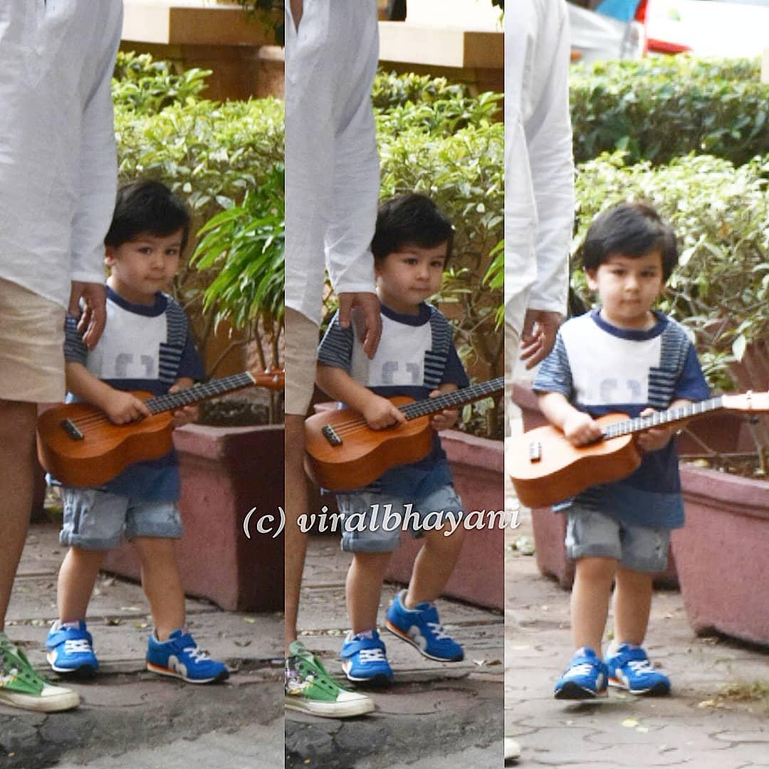 taimur guitar pic