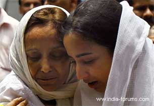 jiah khan's mother Rabiya Khan