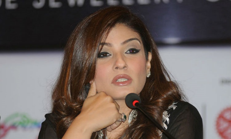 raveena to help the kids with education of the martyrs