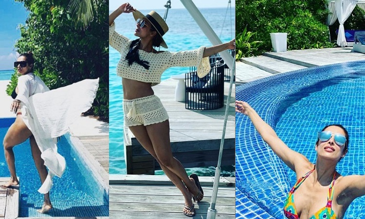 malaika arora gets trolled for her maldives photos