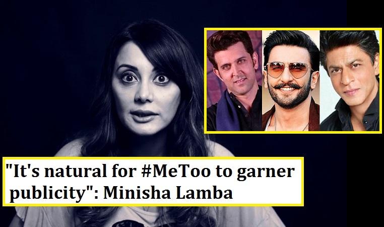 minissha lamba metoo movement