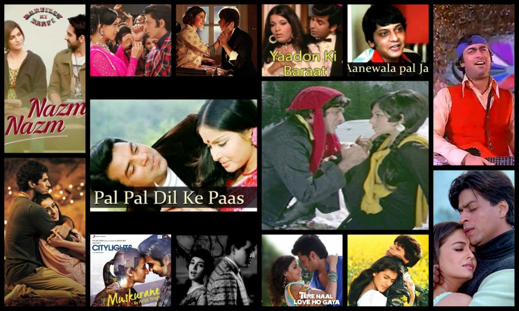 playlist of 14 romantic songs in bollywood
