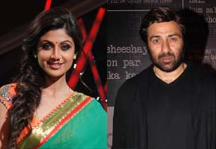 sunny deol and shilpa shetty