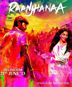 movie review of raanjhanaa