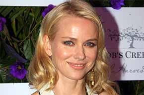Hollywood actress Naomi Watts