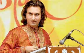 Santoor player rahul sharma