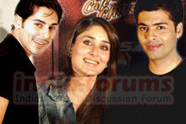 DIno, Kareena and Karan