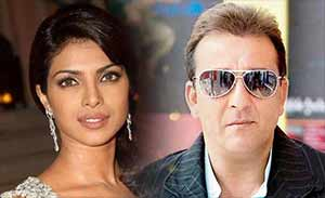 priyanka chopra and sanjay dutt