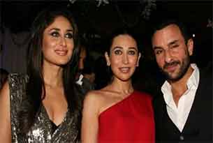 kareena kapoor karishma kapoor and saif ali khan