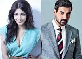 john abraham and shruti haasan
