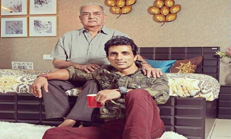 sonu sood pens down a note for his father