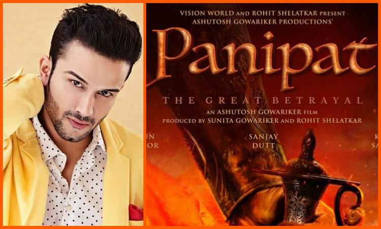 sahil salathia joins panipat star cast