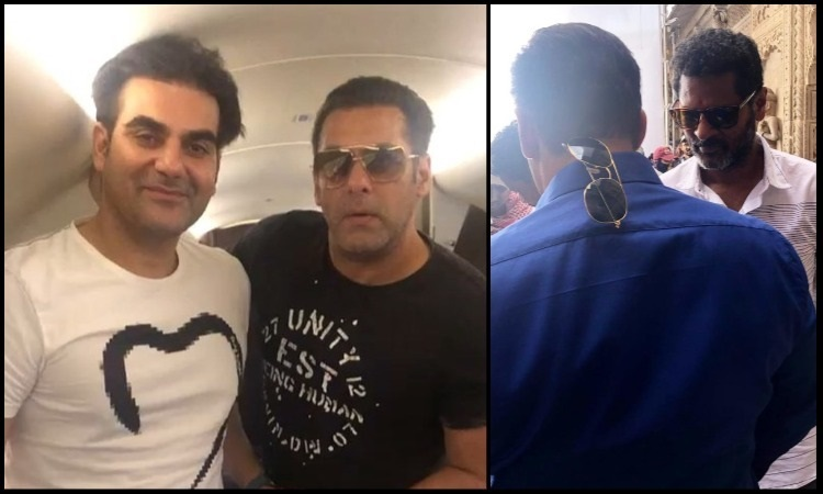 salman shares a video