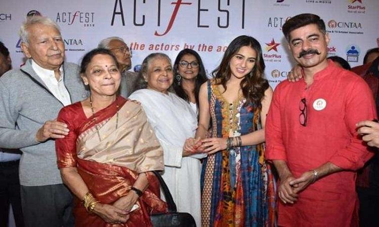 cintaa felicitates senior actors of bollywood