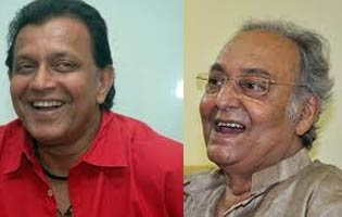 mithun chakraborty and soumitra chatterjee honoured by West Bengal Government