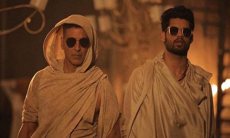 akshay shoots a song for karan debut movie blank