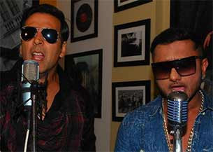 honey singh and akshay kumar