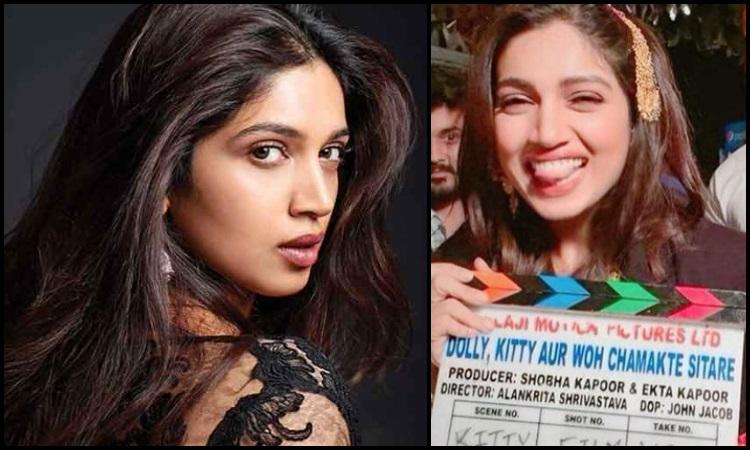 bhumi pednekar wraps up the shoot for dolly kitty aur chamakte sitare