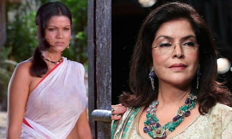 zeenat then and now
