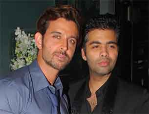 karan johar and hritick roshan