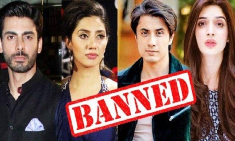ban on pakistani artists