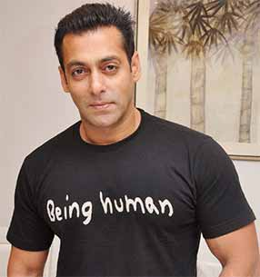 salman khan with being human
