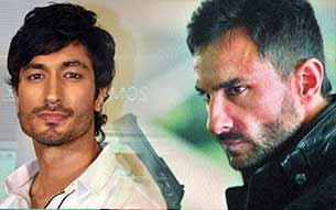 vidyut jamwal with bullet raja movie