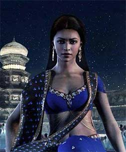 Deepika in the movie kochadaiyaan