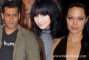 Lauren Gottlieb salman khan and angelina jolie