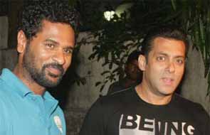 Sanlan khan and Prabhu deva