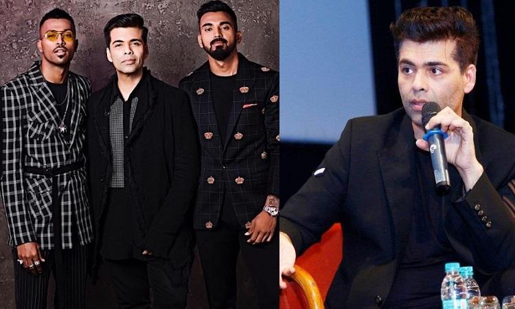 karan johar opens up on hardik pandya and kl rahul controversy