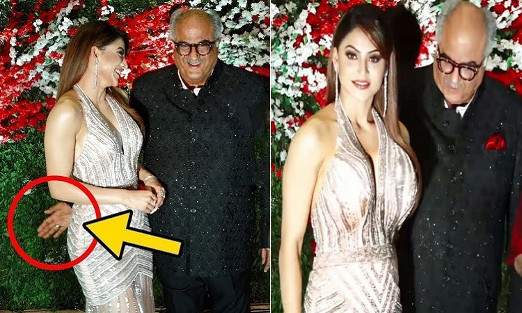 urvashi rautela rubbishes reports of being inappropriately touched by boney kapoor